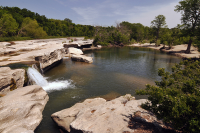 McKinney Falls State Park is located in Southeast Austin, giving residents and visitors a wonderful natural venue.