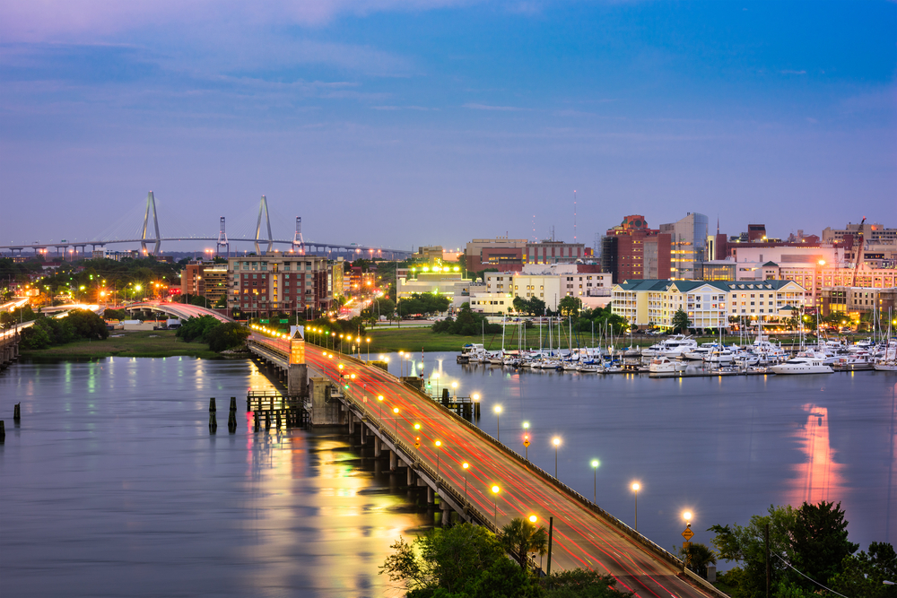 Part of Charleston's charm lies in the landscape.