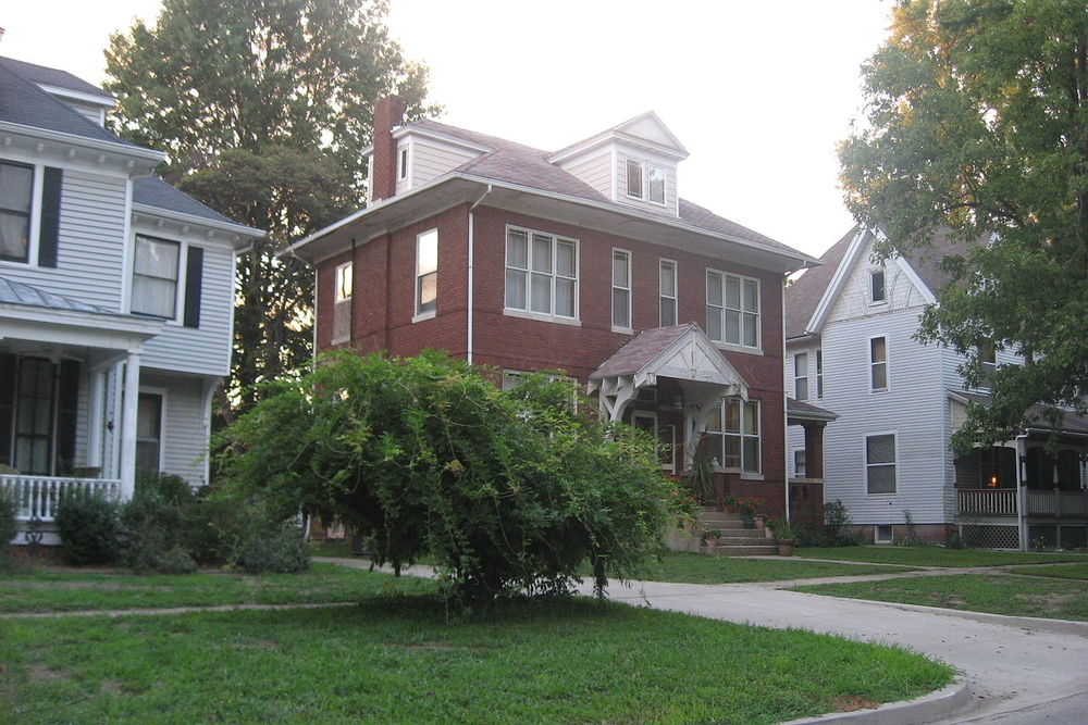 Elliot street in Olney, a city where residents are expected to pay an additional $2,595,066 in income taxes this year.