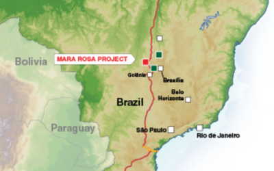 Final stage of the preliminary license permitting process set for Feb. 23 in Mara Rosa, Goias, Brazil.