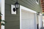 Fiber cement siding is a durable option for exterior walls of a house.