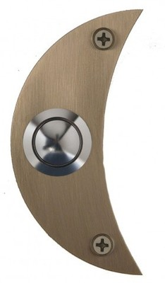 Moon stainless steel doorbell