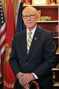 Sen. Pat Roberts (R-KS) chairs the Senate Committee on Agriculture, Nutrition and Forestry.