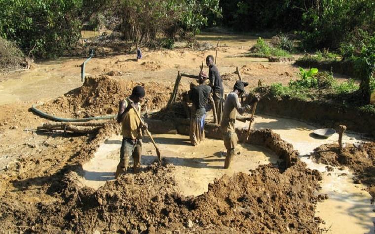 Liberian gold mine