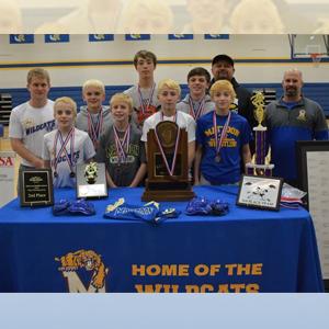 Mattoon Middle School wrestling team