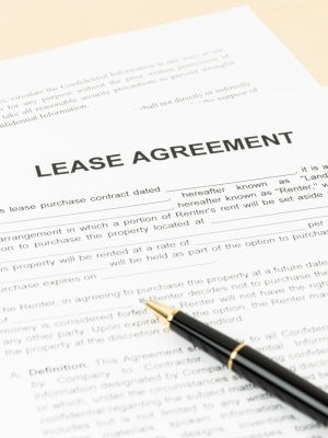 Large leaseagreement