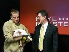Large heyl royster pig