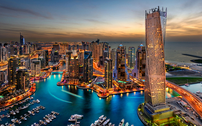 Dubai has been celebrating an increase in foreign tourism compared to past years.