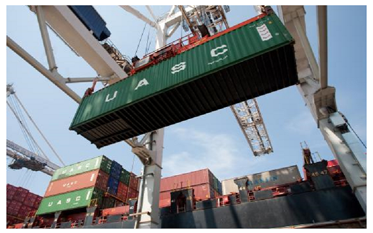 The world's greenest ultra-large container vessel arrived at Jeddah Islamic Port last week.