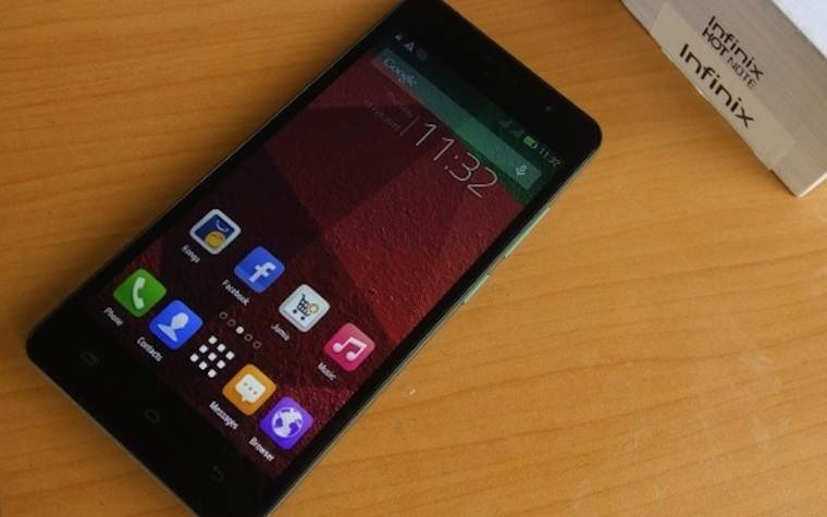 Jumia launches Infinix Hot 2 smartphone in Africa.