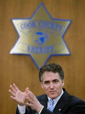 Cook County Sheriff Tom Dart