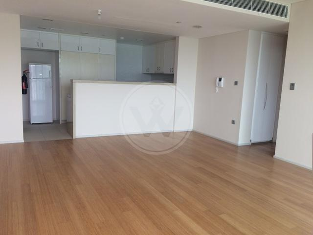 The living space in the two bedroom apartment in Al Sana 2