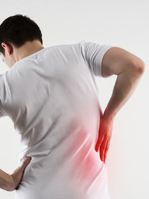 Large backpain