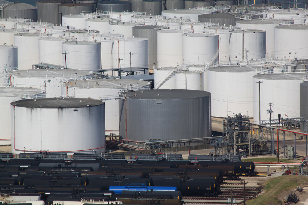 Vopak North America stores liquid chemicals, gases and oil products.