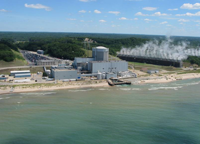 Entergy's Palisades Nuclear Plant in Michigan