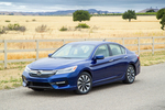 Honda's Accord Hybrid is back in time to celebrate the Accord's 40th anniversary.