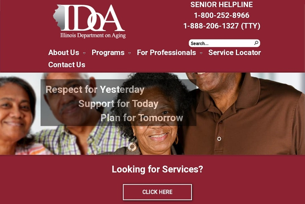 Idoa Il Department On Aging Launches Revamped Website Prairie State Wire