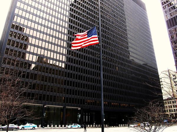 Large dirksen united states courthouse chicago loop chicago illinois