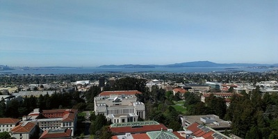 The University of California at Berkeley campus.