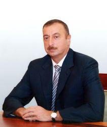 Azerbaijan President, Ilham Aliyev