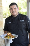 Satellite Bistro and Bar's chef, Marcus Vidales, is encouraged to create new and interesting dishes.