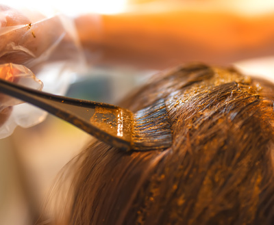 Natural henna is one organic way to go when it comes to hair dye.