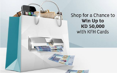 """Kuwait Finance House has announced the recent winners of its """"Shop and Win"""
