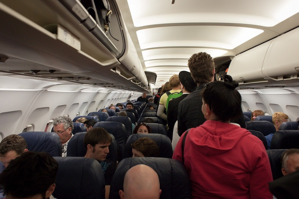 Tassili Airlines notes it easier to accommodate passengers who arrive early and prepared.
