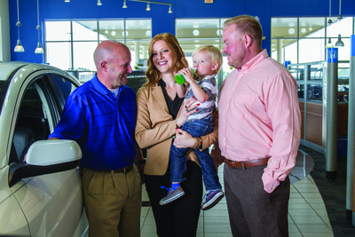 The Howdy Honda team shares a passion to treat prospects and customers with dignity and respect.