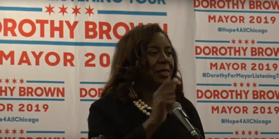 Cook County Circuit Clerk Dorothy Brown has not been indicted stemming from a federal investigation into hiring and promotions practices within her office.