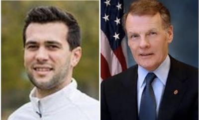 Jake Castanza, left, and Michael Madigan