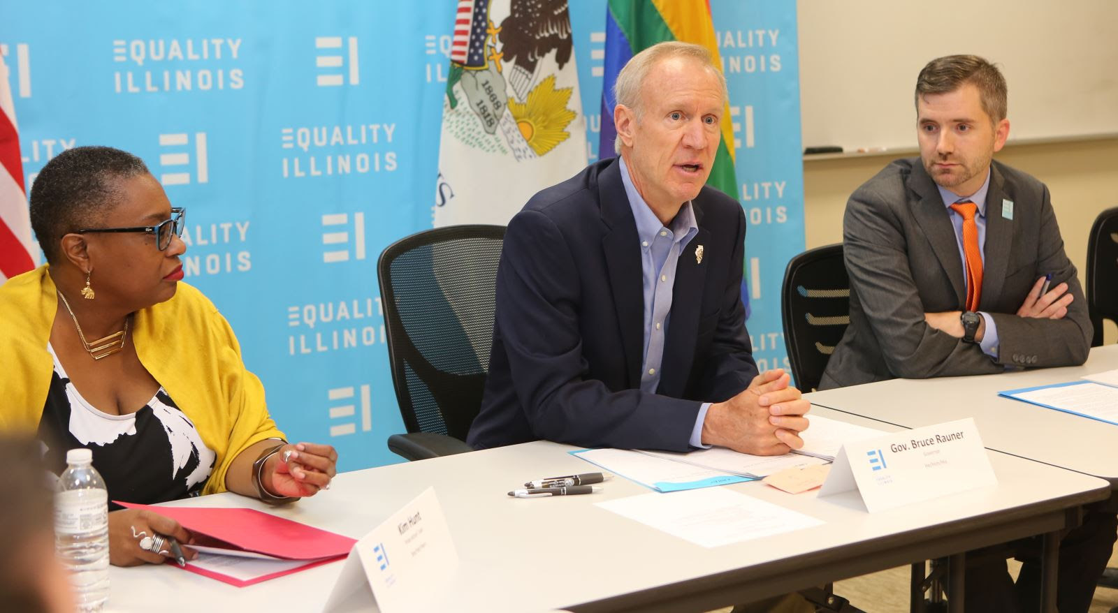 Illinois Governor Bruce Rauner is one of two Republicans who will attend a transgender activist group's largest annual fundraiser.