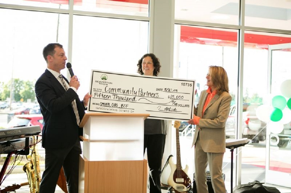 Beaverton Toyota proudly partners with a long list of charities.