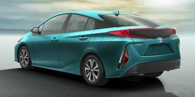 The Toyota Prius Prime has a dual-motor drive system that uses both the engine and electricity for acceleration and cruising at highway speeds.