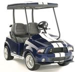Shelby GT500 golf cart