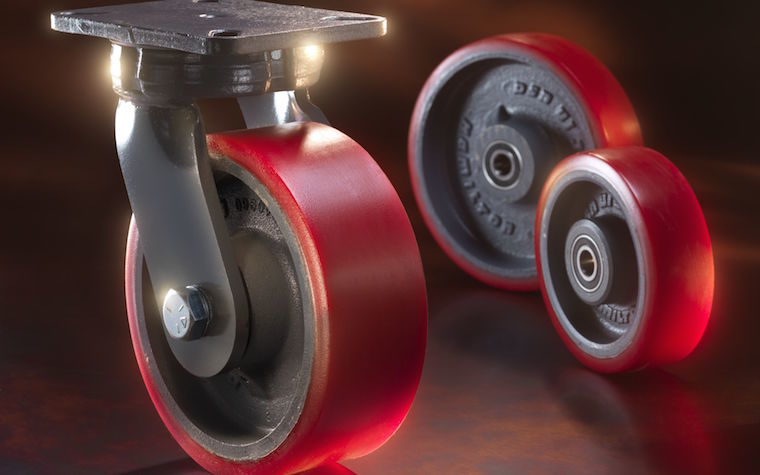 Hamilton Caster unveils new Spinfinity casters.