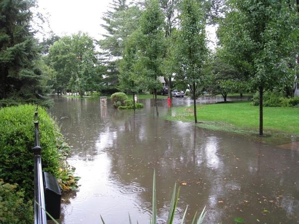 Large floodplain