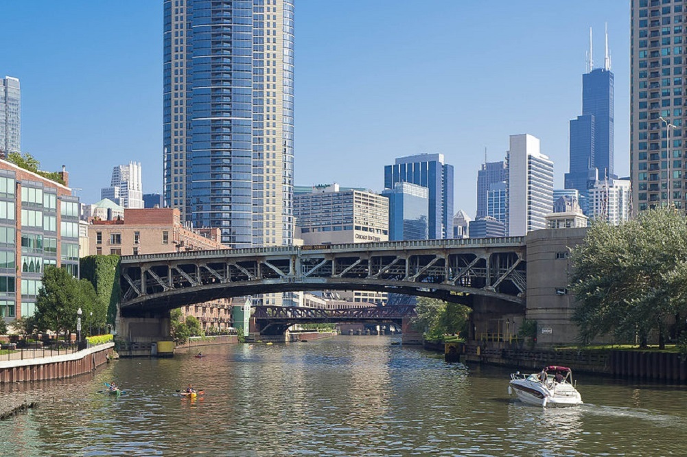 Cint recently arrived in downtown Chicago's River North district.