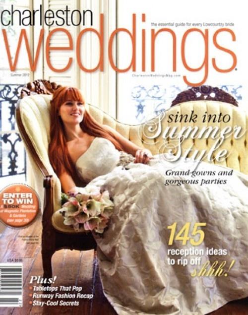 Charleston Weddings magazine celebrates 10 years of publishing.