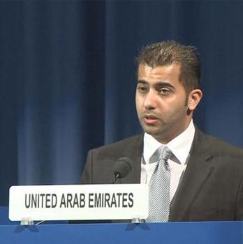 United Arab Emirates Ambassador Hamad Al Kaabi