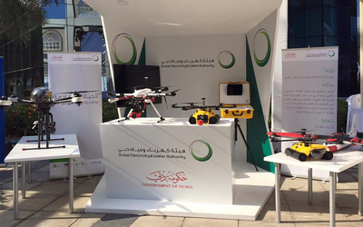 Dubai Electricity and Water Authority has advanced drone use to support Dubai's infrastructure.