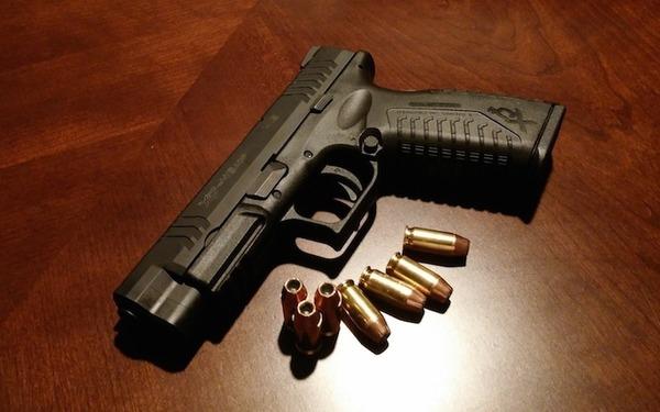 Large handgun
