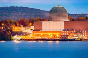 Indian Point Energy Center in Buchanan, New York