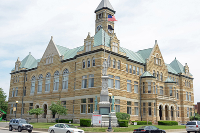 Coles County Courthouse, Charleston, Illinois