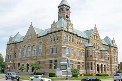 Coles County Courthouse, Charleston, Illinois