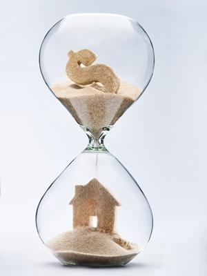 Large hourglass mortgage