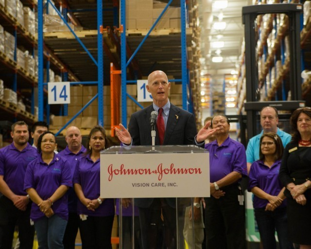 Johnson & Johnson is expanding in Jacksonville, Florida.