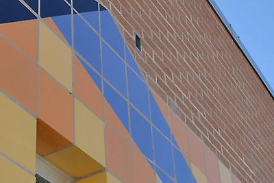 Glazed brick has advantages in durability, ease of maintenance and aesthetic flexibility.