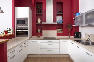 Big, bold colors can make a kitchen come alive.