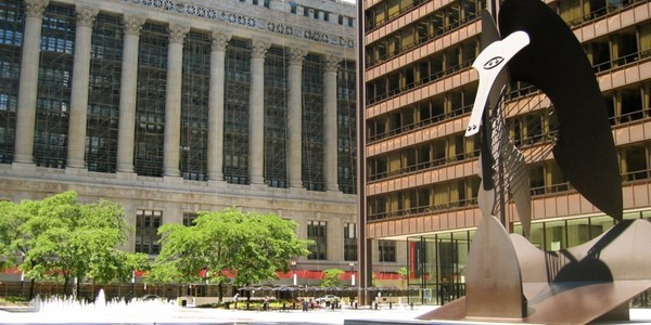 Large daley plaza